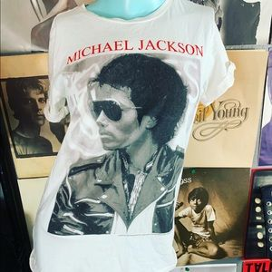 Michael Jackson Collector Shirt Size: Small